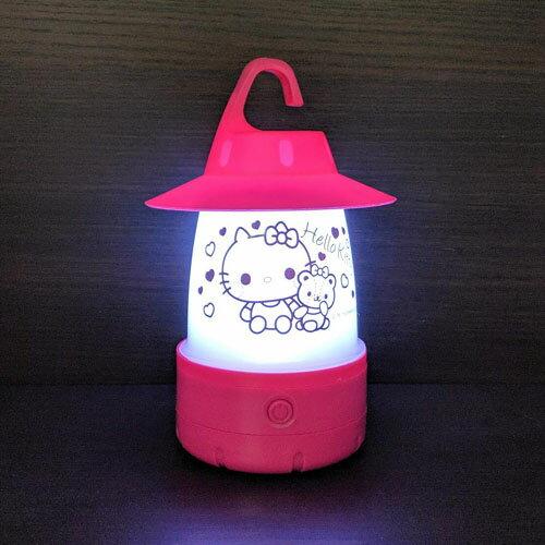 【サンリオ カラフル LED ランタン キティ】2way キャンプ アウトドア 贈答品 常夜灯 LEDライト LEDランタン 懐中電灯 こども 癒し キッズ キティちゃん インテリア かわいい オシャレ ライト smile lamp ランプ スマイルランタン Hello Kitty
