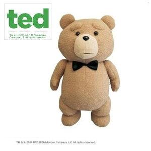 送料無料【TED テッド 46cm リボン ぬいぐるみ ボリュームMAX 】テッドグッズ テディベア モフモフ 映画グッズ キャラクター プレゼント おもしろ雑貨 景品 2次会 結婚式