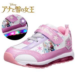 限定【Disney ディズニー アナ雪 光る 靴 7406 】グッズ エルサ 女児 女の子 子ども こども アナと雪の女王 靴 キャラクター シューズ 女児 光る靴 かわいい 点滅 フラ