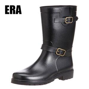 【ERA イーラ メンズ レインブーツ 2600 BK】紳士 おしゃれ オシャレ 男性 大人 園芸 ガーデンシューズ ガーデニング 長靴 作業靴 安全 作業用靴 メンズシューズ 紳士