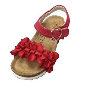 【DOUBLE STAR キッズ ジュニア ベンハー サンダル RD 3845-02】女の子 女児 子ども 子供 こども シューズ 靴 幼稚園 スニーカー キャラクター かわいい 小学生 ノンキャ