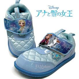 特価【 Disney アナと雪の女王 キッズ スニーカー 7654】靴 女児 女の子 ベビー 子ども こども キャラクター グッズ シューズ アナ雪 ディズニー グッズ アナ エルサ 14cm 15cm 16cm 17cm  安い 2歳 3歳 4歳 5歳 6歳