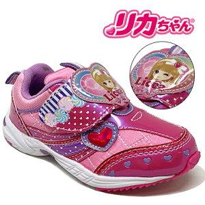 【リカちゃん キッズ スニーカー 2073】女の子 子ども キッズシューズ 靴 子供靴 シューズ 女児 スニーカー 運動靴 キッズ キャラクター 15cm 16cm 17cm 18cm りかちゃん リ