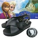 【 Disney アナと雪の女王 ナースサンダル BK 6708 】ナースシューズ サンダル 美脚 ベルト かわいい キャラクター ・・・