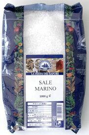 【送料無料ケース】ドロゲリア マリーノ・グロッソ(海塩・粗粒)1kg×12個