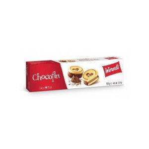 ヴェルンリ チョコフィン 100g(14個入)ハートマークがかわいいチョコレートサンドクッキー