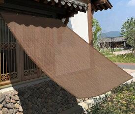 遮光シェード オーニング スマート日よけ よしず すだれ よりもオシャレで長持ち(180x180cm)