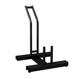 自転車スタンド 横風に強い 頑丈 自転車 ラック 倒れない 組み立て式 サイクルスタンド 固定できる 重量あり ズレにくい 玄関すっきり 自転車置き場 (1台用)
