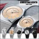 腕時計 メンズ レディース ペア CHRISTIAN KENTH クリスチャンケンス スライド式バックルベルト レディースウォッチ メンズウォッチ CK-505 【メール便不可】
