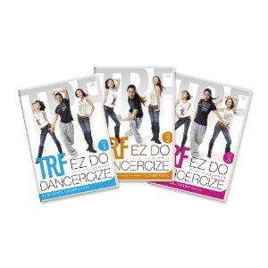 【中古】 TRF イージー・ドゥ・ダンササイズ EZ DO DANCERCIZE DVD 3枚セット ※ディスクにキズ・ケースにダメージありますが、DVDは再生チェック済みです。