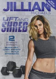 ジリアン・マイケルズ Lift & Shred 英語版 エクササイズDVD 「海外直輸入USED品」【中古】