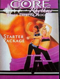 コアリズム スターターパッケージ DVD4枚セット ダンスエクササイズプログラム 「海外直輸入USED品」【中古】