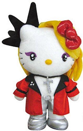 【未使用品】 ヨシキティ yoshikitty ぬいぐるみ(赤) X JAPAN YOSHIKI×ハローキティコラボ