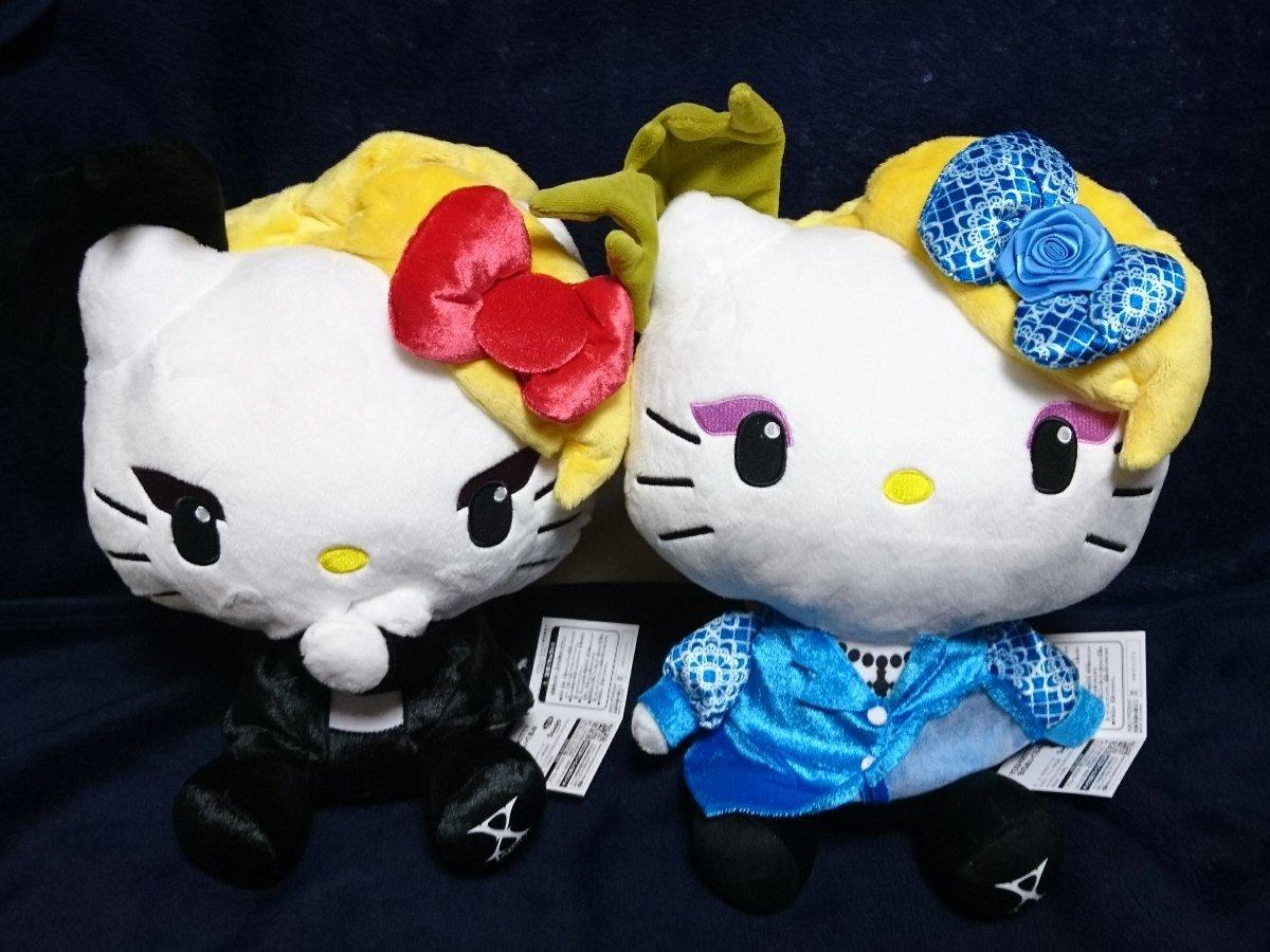 【新品】 ヨシキティ yoshikitty BIG ぬいぐるみ 2種セット X JAPAN プライズ