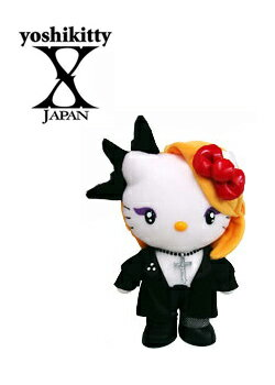 【未使用品】 ヨシキティ yoshikitty ぬいぐるみ X JAPAN YOSHIKI×ハローキティコラボ