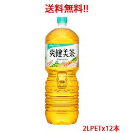 【日本全国送料無料】コカ・コーラ(コカコーラ)爽健美茶 2LPET×12本(2ケース分)販売