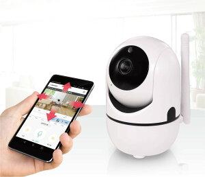 小型 電池式 スマホ ワイヤレス 無線式 防犯カメラネットワークカメラ wifi ベビーモニター ペットカメラ 見守りカメラ 監視カメラ 暗視撮影 双方向音声 HAC-2162