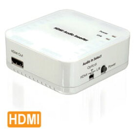 Cypress Technology製 HDMIオーディオ切替器(HDMI音声/光デジタル/アナログ音声) CLUX-11CA