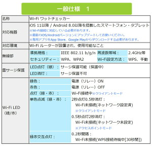 RS-WFWATTCH1A