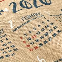 【送料無料】カレンダー2020年壁掛け民族ネイティブシンプルインテリア北欧ポスターアートおしゃれ32年度暦かわいい