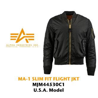 ALPHA INDUSTRIES MA-1 SLIM FIT纤细合身飞行员茄克进口(MA-1 IMPORT军事糖果舵)