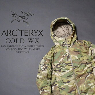 ARC'TERYX Arc'Teryx LEAF COLD WX HOODY LT JACKET MULTICAM NEW leaf cold WX hood LT jacket MultiCam model domestic unreleased military line Pinnacle outdoor brand NEW