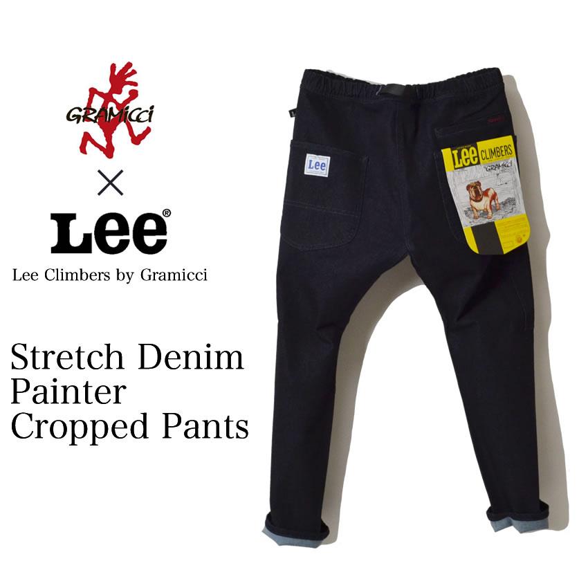 Lee CLIMBERS BY GRAMICCI STRETCH DENIM PAINTER PANTS デニム ペインターパンツ グラミチ × リー コラボ クライミングパンツ GUP-17F901