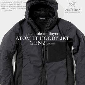 ARC'TERYX アークテリクス LEAF ATOM HOODY LT JACKET GEN2 アトム フードLTジャケット ジェネレーション2 後期アップデード 国内未発売ミリタリーライン 最高峰アウトドアブランド