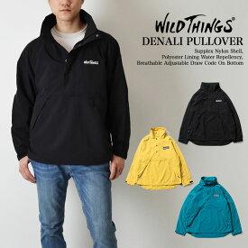 WILDTHINGS ワイルドシングス DENALI PULLOVER JACKET SUPPLEX 高密度ナイロン デナリ プルオーバー ジャケット WT19017Y