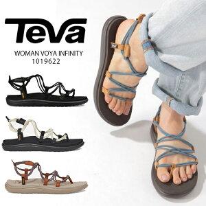【TEVA】VOYA INFINITY 1019622 テバ ボヤインフィニティー BLACK CITA TWM WSW シーフォーム スポーツサンダル スポサン ビーチサンダル 靴 フェス アウトドア キャンプ ぺたんこ フラット レディース コ