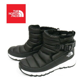 THE NORTH FACE【ザ・ノースフェイス】WOMEN'S THERMOBALL PULLE-ON NF0A08UKY4 レディース 防寒ブーツ スノーブーツ ブラック 黒 TNF Black/TNF White