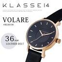 希少品番!【KLASSE14】クラス14フォーティーン # VOLARE 36mm LEATHER BELT腕時計!RG005W/ローズゴールド/入学祝い…