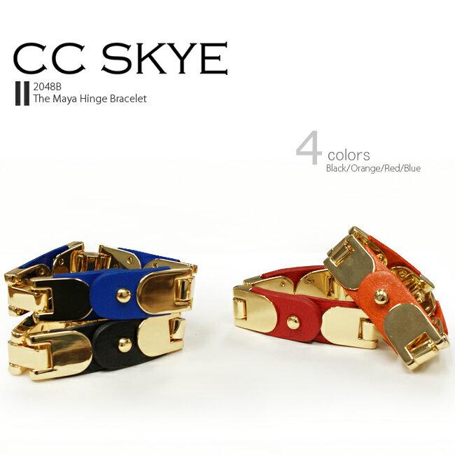[安心正規]◆【安心正規】CC SKYE【シーシー スカイ】#2048B/The Maya Hinge Bracelet ザ マヤ ヒンジ ブレスレットBlack/Orange/Red/BlueLOW LUV/ローラブ好きにもおススメ