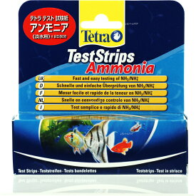 【全国送料無料】【在庫有り!!即OK】テトラ テスト試験紙 アンモニア(淡水用) (新商品)