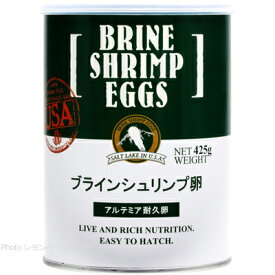 【全国送料無料】【在庫有り!!即OK】日本動物薬品 ブラインシュリンプ エッグス 425g缶入