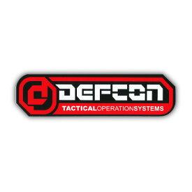 DEFCONLOGO ステッカー カラー RED 【デフコン ステッカー】【メール便対応】715005