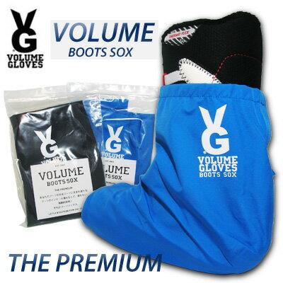 VOLUME GLOVESBOOTS SOXPREMIUM BOOTS SOX(PREMIUM)AQUA/BLACK【ボリュームグローブ】【スノーボード ブーツソックス】