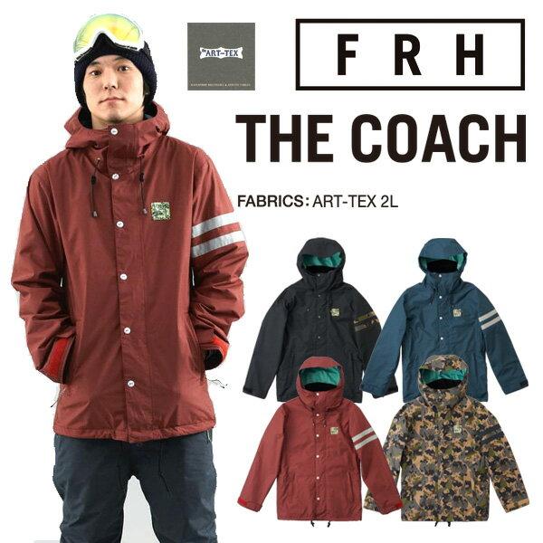 15-16モデル!FRH THE COACH ジャケット ART-TEX 【スノーボード ウェア 15-16 コーチジャケット 】715005