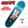 """HOOK UPS SKATEBOARDING """"NINJA WARRIOR"""" 8.25 × 32"""