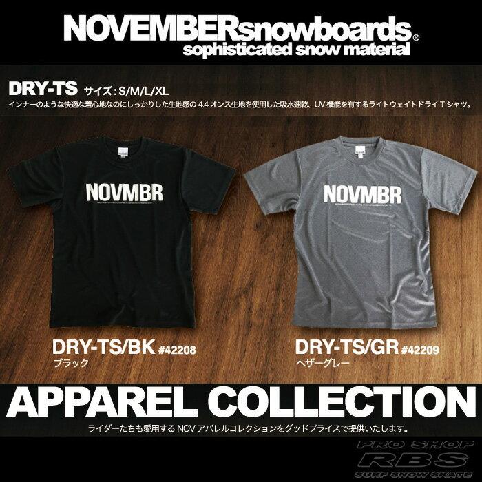 17-18 NOVEMBER ドライ Tシャツ DRY-TS 【ノベンバー スノーボード】【日本正規品】