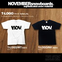 17-18 NOVEMBER Tシャツ T-LOGO ロゴ 【ノベンバー スノーボード】【日本正規品】