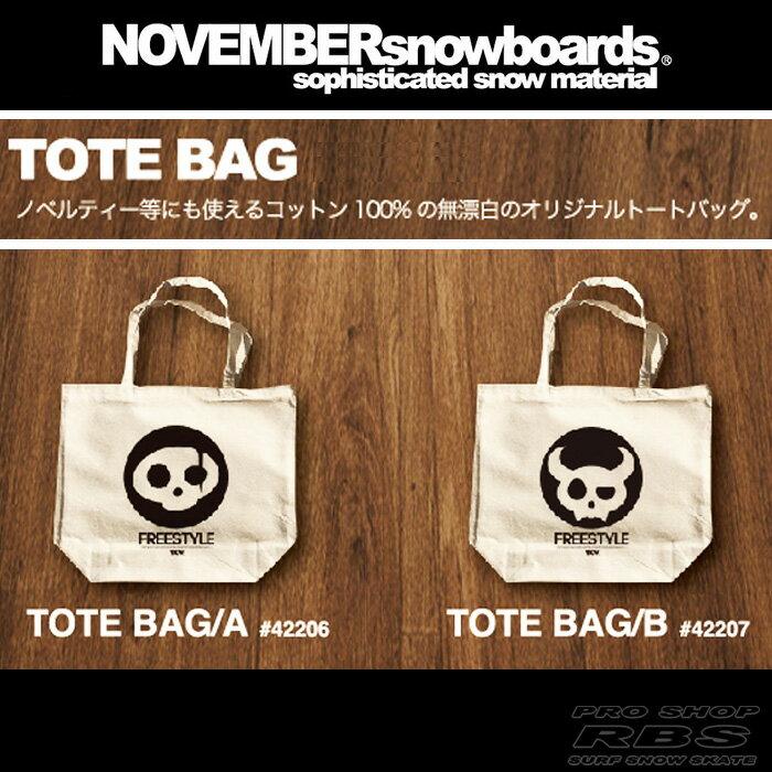 17-18 NOVEMBER トートバック TOTE BAG 【ノベンバー スノーボード】【日本正規品】【あす楽】