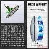 SANTACRUZ SURFBOARD OZZIE WRIGHT 5.0/5.4/5.8/6.0/6.4 Aussie surf board