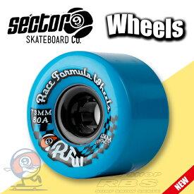 セクター9 SECTOR9 ウィール RACE サイズ 73mm YELLOW/ORANGE/BLUE 【スケートボード ソフトウィール】【ロングボード クルーザー】【日本正規品】