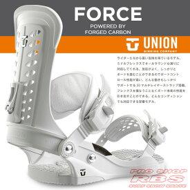 16-17 モデル UNION BINDING FORCE フォース WHITE ホワイト 【UNION 16-17】【ユニオン バインディング】【スノーボード ビンディング】【日本正規品】