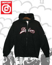 DEFCON LOGO パーカー 【カラー BLACK 】【スノーボード】715005