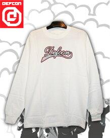 DEFCON ロングTシャツ 【カラー WHITE 】【スノーボード】715005