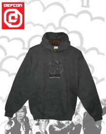 DEFCON LOGO パーカー 【カラー D-GRAY 】【スノーボード】715005