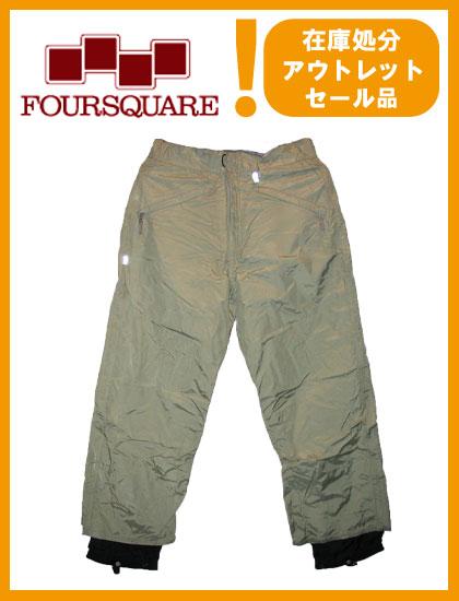FOURSQUARE PANTS カラー TEA GREEN 【フォースクエアー パンツ】【スノーボード ウェア】715005