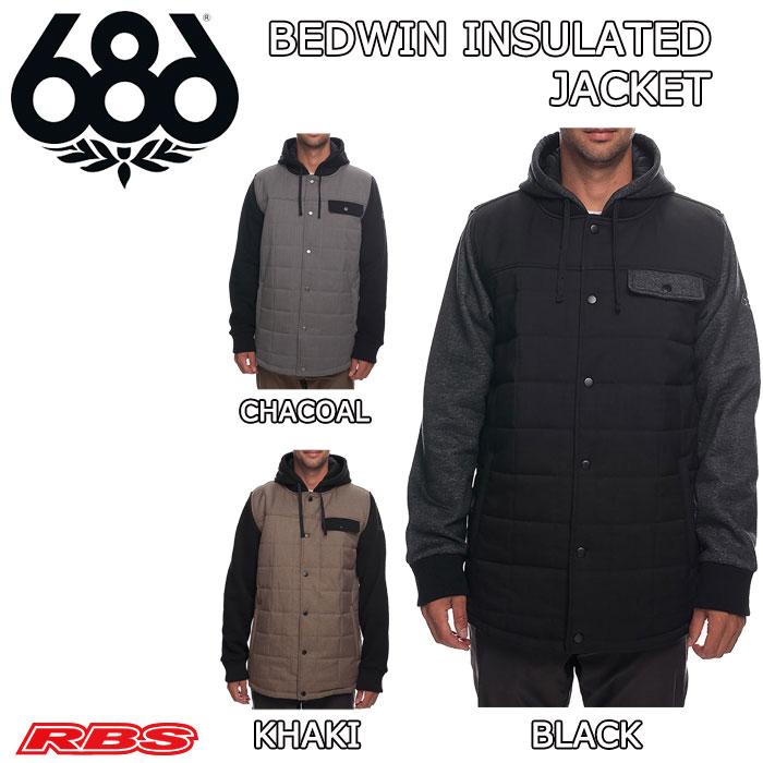 686 BEDWIN INSULATED JACKET 【スノーボード ウェア 18-19】【日本正規品 送料無料】